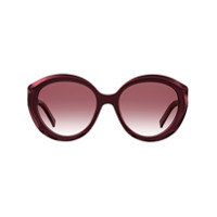 Elie Saab Óculos De Sol Redondo - Vermelho