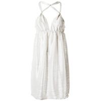 Tufi Duek Vestido Com Tiras - Branco