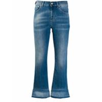 Jacob Cohen Calça Jeans Cropped 'frida' - Azul