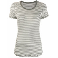 Majestic Filatures Striped T-Shirt - Cinza