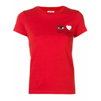 Kenzo Camiseta Com Logo - Vermelho