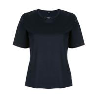Dion Lee Camiseta Com Sobreposição - Azul