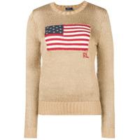 Polo Ralph Lauren Suéter Com Bordado - Metálico