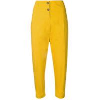 Phisique Du Role Calça Skinny Cintura Alta - Amarelo