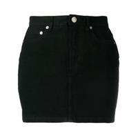 A.p.c. Mini Saia Jeans - Preto