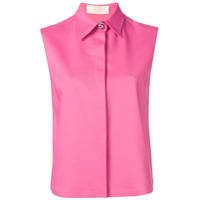 Sara Battaglia Sleeveless Shirt - Rosa