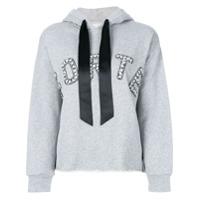 Forte Dei Marmi Couture Moletom Com Logo - Cinza