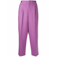 Ballsey High-Rise Cropped Trousers - Rosa