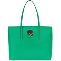 Fendi Bolsa Tote Com Logo - Green