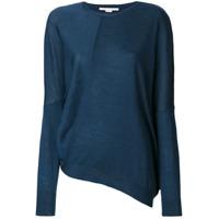 Stella Mccartney Suéter Com Drapeado - Azul