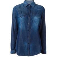Diesel Camisa Jeans - Azul