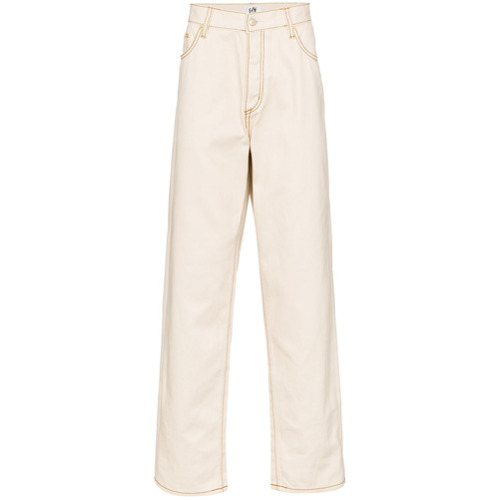 Eytys Calça jeans ampla 'Benz' - Neutro
