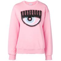 Chiara Ferragni Suéter Eye - Rosa