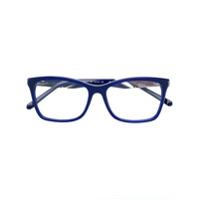 Swarovski Eyewear Armação De Óculos Retangular - Azul