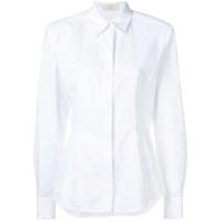 Sara Battaglia Camisa Clássica - Branco