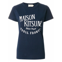 Maison Kitsuné Camiseta 'palais Royal' - Azul