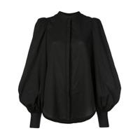 Acler Puff Sleeve Shirt - Preto
