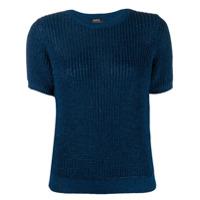 A.p.c. Textured Knit Sweater - Azul