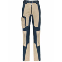 Gmbh Calça Jeans Skinny Com Patchwork - Azul