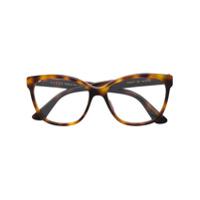 Gucci Eyewear Armação De Óculos Quadrada - Marrom