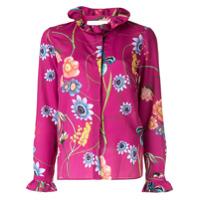 Borgo De Nor Camisa Floral 'veronica' - Rosa