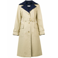 Tory Burch Trench Coat Com Cinto - Neutro