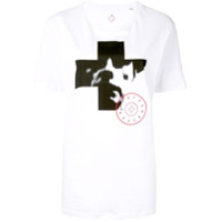 A.f.vandevorst Camiseta Com Estampa Fotográfica - Branco