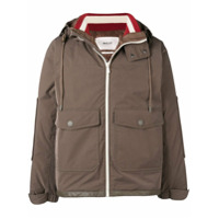 Bally Hooded Padded Jacket - Green