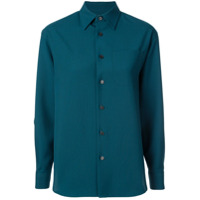 Facetasm Camisa Com Recortes - Verde