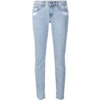 Dondup Calça Jeans Com Detalhe Desgastado - Azul