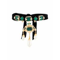 Dolce & Gabbana Choker Com Pingente - Dourado
