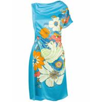 Peter Pilotto Vestido Floral - Azul