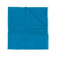 Faliero Sarti Echarpe Com Franjas - Azul
