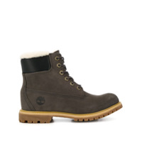 Timberland Lace-Up Ankle Boots - Cinza