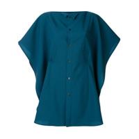 Facetasm Camisa Com Modelagem Diferente - Azul