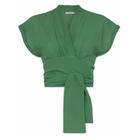 Three Graces Blusa Cropped 'serena' - Green