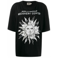 Fausto Puglisi 'hollywood Recovery Center' T-Shirt - Preto