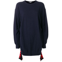 Stella Mccartney Blusa De Moletom 'all Is Love' - Azul