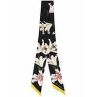 Dolce & Gabbana Headband Estampado Lily - Preto