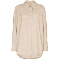 Low Classic Camisa Oversized - Neutro
