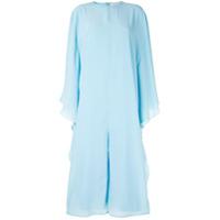 Pose Arazzi Macacão Com Calça Pantalona - Azul