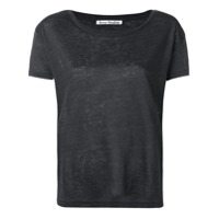 Acne Studios Camiseta Eldora - Cinza