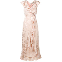 Aniye By Vestido Envelope Longo - Neutro