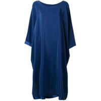 Jean Paul Knott Vestido Longo Slim - Azul