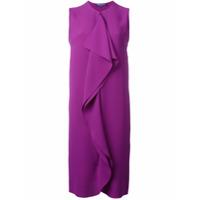 Ralph Lauren Vestido De Seda Sem Mangas - Rosa