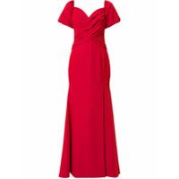 Rachel Gilbert Vestido De Festa 'amalia' - Vermelho