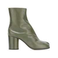 Maison Margiela Ankle Boot De Couro Modelo 'tabi' - Verde