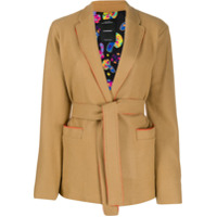 Canessa Short Belted Waist Jacket - Marrom