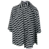 Balenciaga Camisa De Seda - Preto