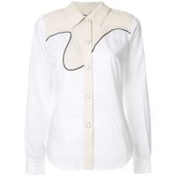 Aalto Camisa Com Estilo Cowboy - Branco